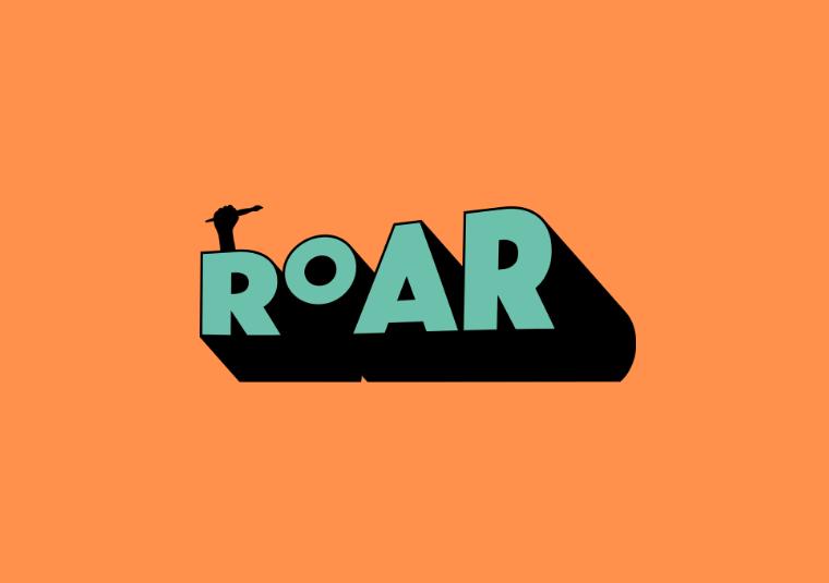 Roar Festival logo - ROAR is in all capitals